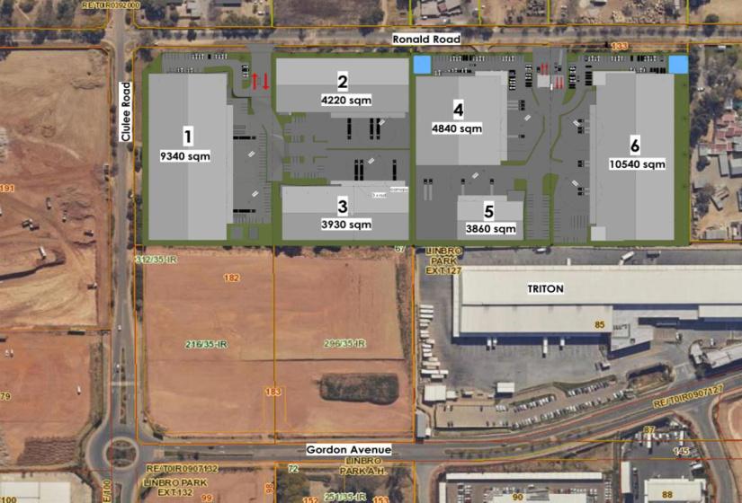 Ronald Avenue, Longlake, Gauteng, ,Industrial Development,To Let,Meadowview Logistics Hub,Ronald Avenue,1600